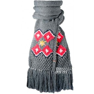 Mia Scarf Negro dark heather