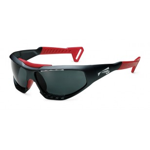 Lip sunglasses Surge - Graphite - Red / smoke lents