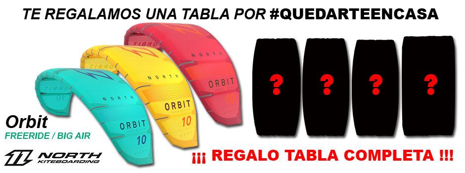 Pack Orbit regalo tabla