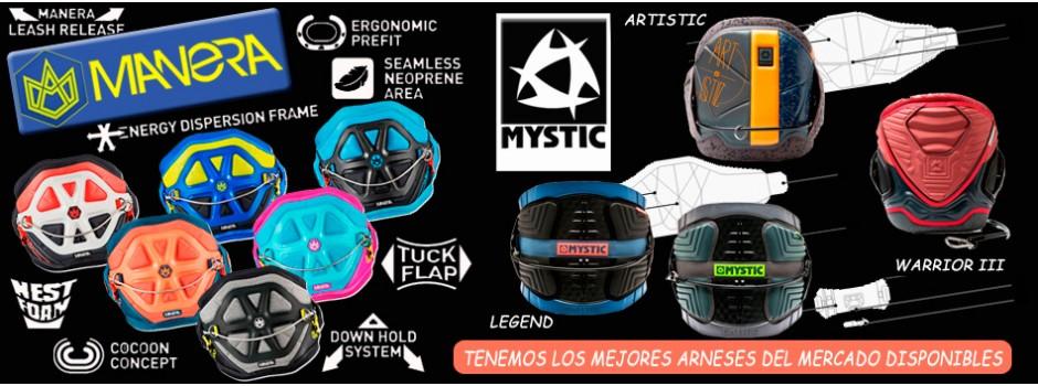 Arnés 2016 mystic / manera
