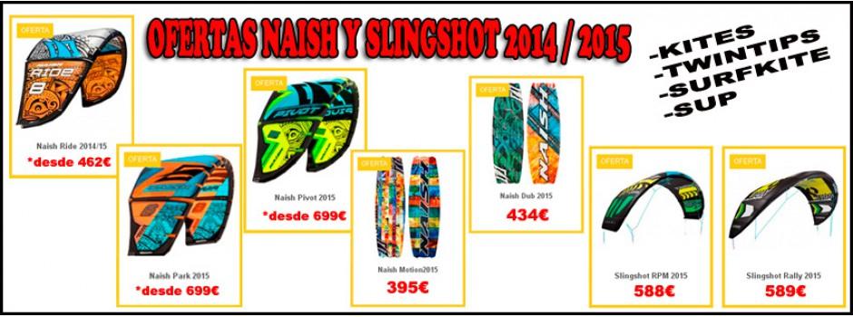 Naish / Slingshot 2015