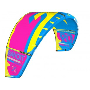 Bandit 10 blue / yellow / pink