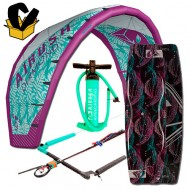 Pack Airush Diamond kite 2017 + Diamond board 16