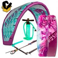Pack Airush Diamond kite 2017 + Diamond board 17