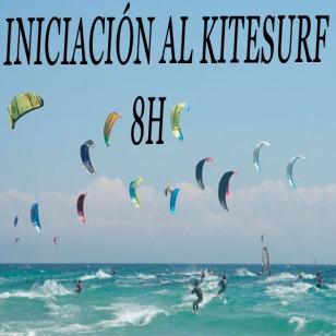 Curso kitesurf iniciación 8h