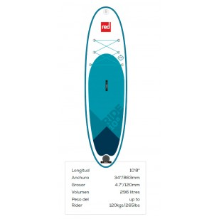 Red paddleco 10'8'' Ride 2019