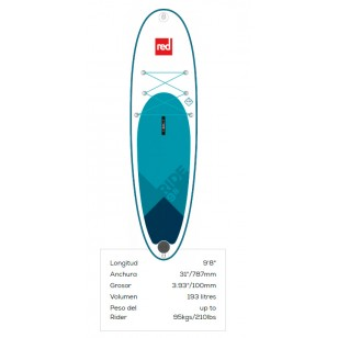 Red paddleco 9'8'' 2019